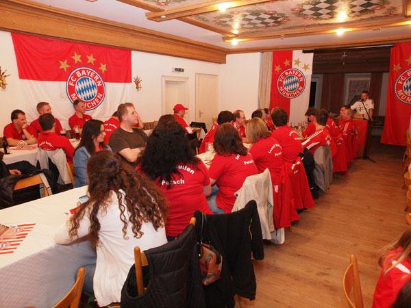 Erste Jahreshauptversammlung vom Bayern München Fanclub
